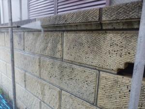 外塀もサービスで洗浄させていただきました。