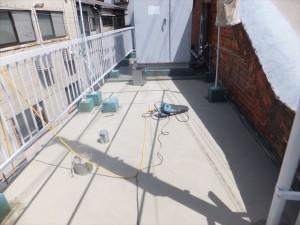 防水塗装工事 下地調整
